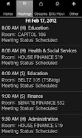 Screenshot of Alaska State Legislature