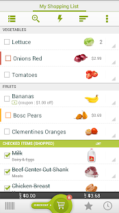 Grocery King Shopping List - screenshot thumbnail