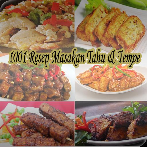 1001 Resep Masakan Tahu Tempe