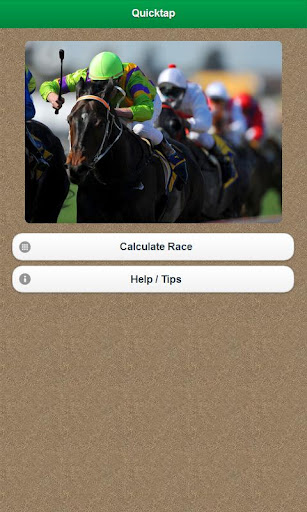 Horse Betting Quicktap