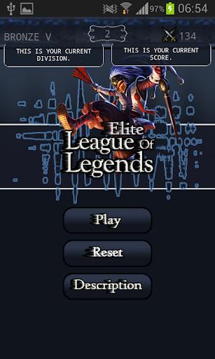 Elite League of Legends