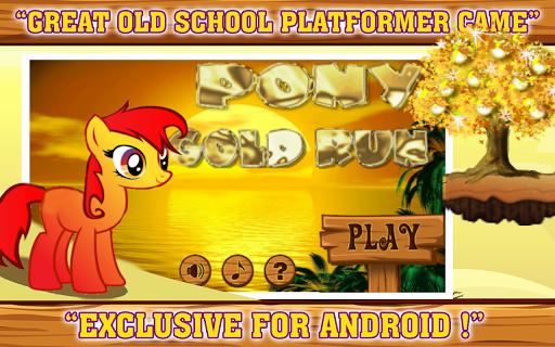 Pony Gold Run