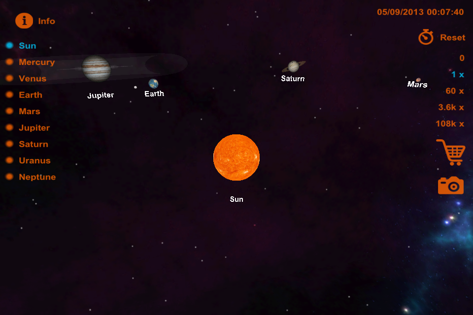 picture of our solar system 3d - photo #42