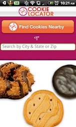 Girl Scout Cookie Locator APK screenshot thumbnail 1