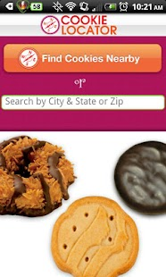 Girl Scout Cookie Locator - screenshot thumbnail