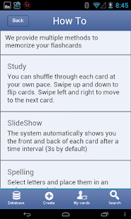 CCMSE Flashcards - screenshot thumbnail