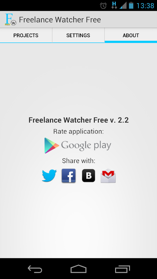 Freelance Job Watcher Free - screenshot
