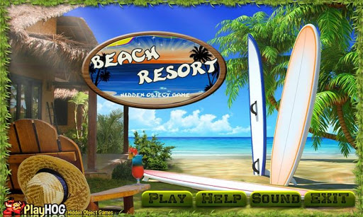 Beach Resort - Hidden Objects