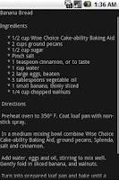 Screenshot of (Donate) Gluten Free Recipes