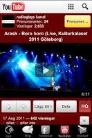 Screenshot of Radio Gbg