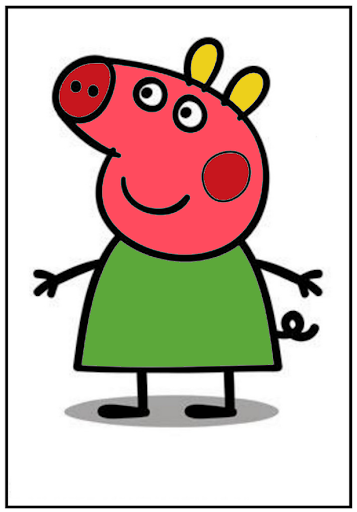 Coloring Pig For Kids