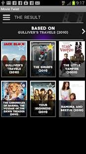 Movie Twist- screenshot thumbnail