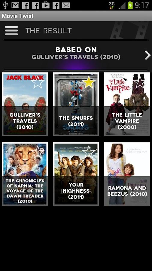 Movie Twist- screenshot