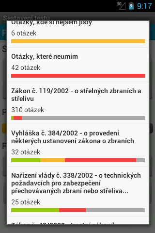Zbrojní průkaz - screenshot
