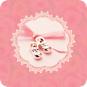 Ballet Shoes Theme Go Launcher icon