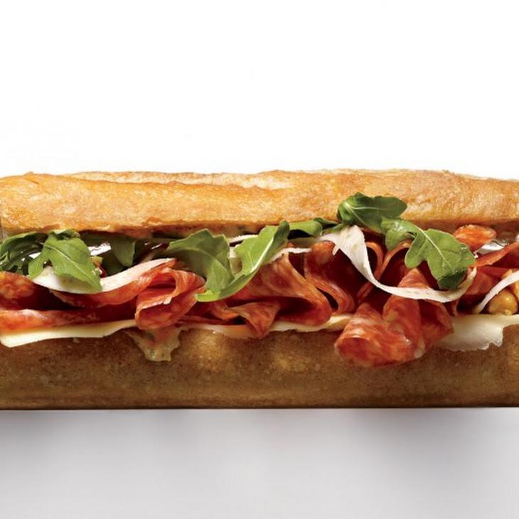 Italian Salami Sandwich Recipe