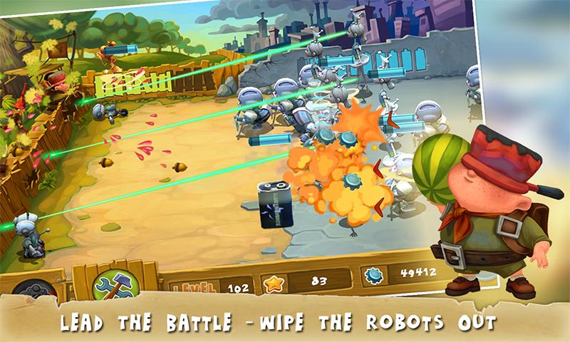 Stop The Robots - screenshot