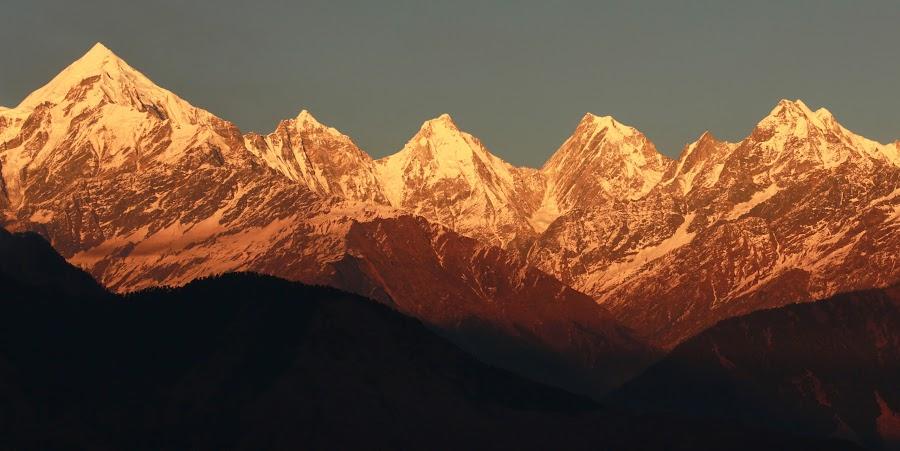 PANCHCHULI RANGE , MUNSYARI by Sushil Gupta - Landscapes Mountains & Hills ( sushil gupta )