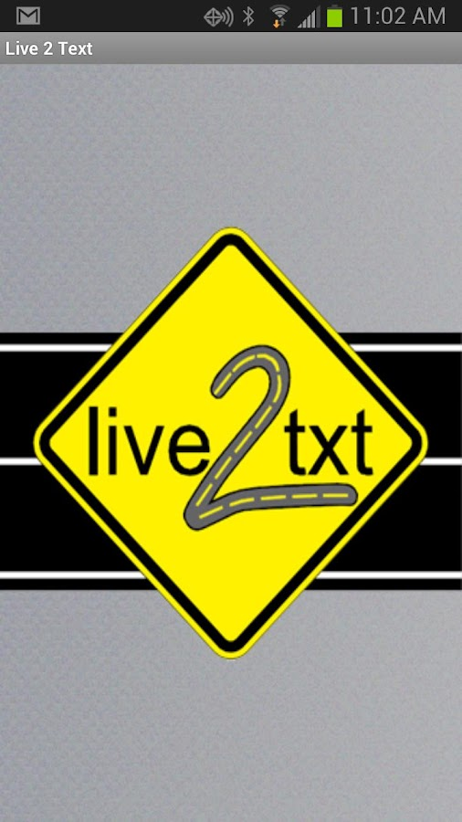 Live2Txt - Live 2 Text- screenshot