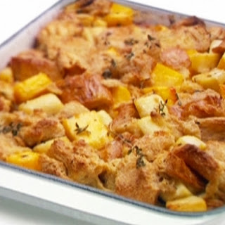 Sweet and Savoury Bread Pudding
