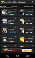 Screenshot of Funny Sound Effects Ringtones