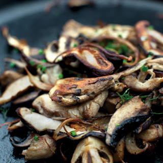 Cast-Iron Mushrooms