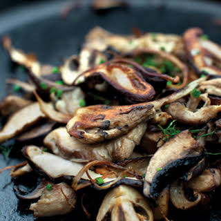 Cast-Iron Mushrooms.