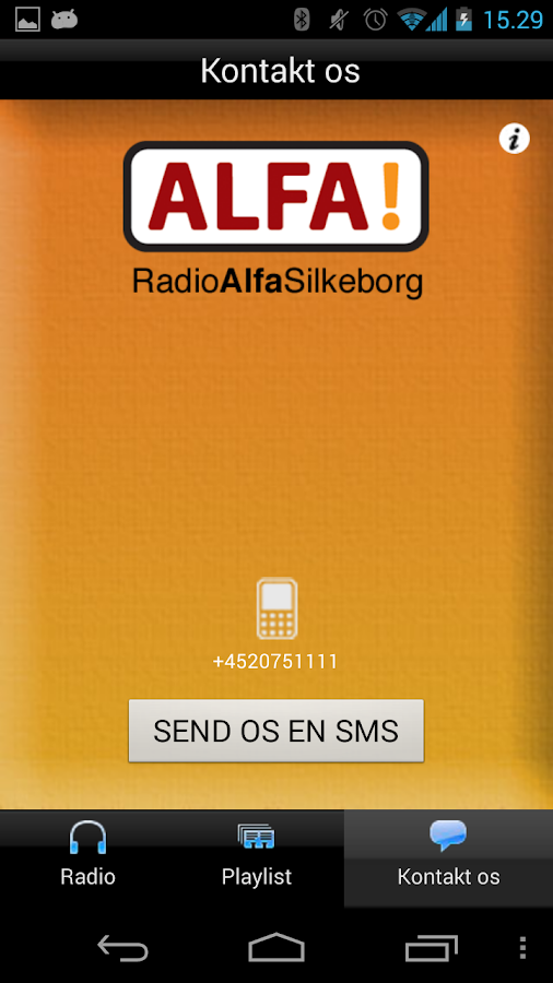 Radio Alfa Silkeborg- screenshot
