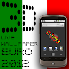 3D Clock ITALY FLAG WALLPAPER icon