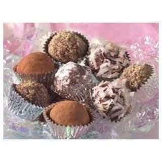 BAKER'S Easy Chocolate Truffles.