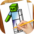 Game Learn to Draw Minecraft APK for Kindle