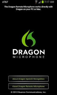 Dragon Remote Microphone - screenshot thumbnail