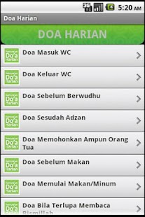 Doa Harian (Old)- screenshot thumbnail