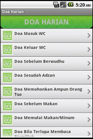 Doa Harian (Old) 3.1 screenshot 2088594