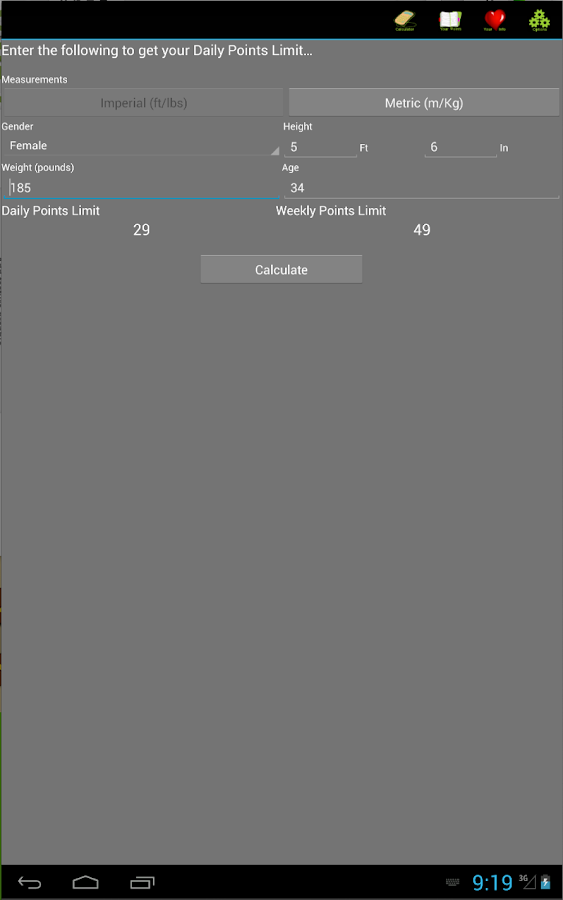 Weight Tracker Plus- screenshot