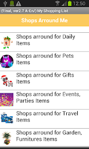 my Daily Shopping Lists screenshot 6