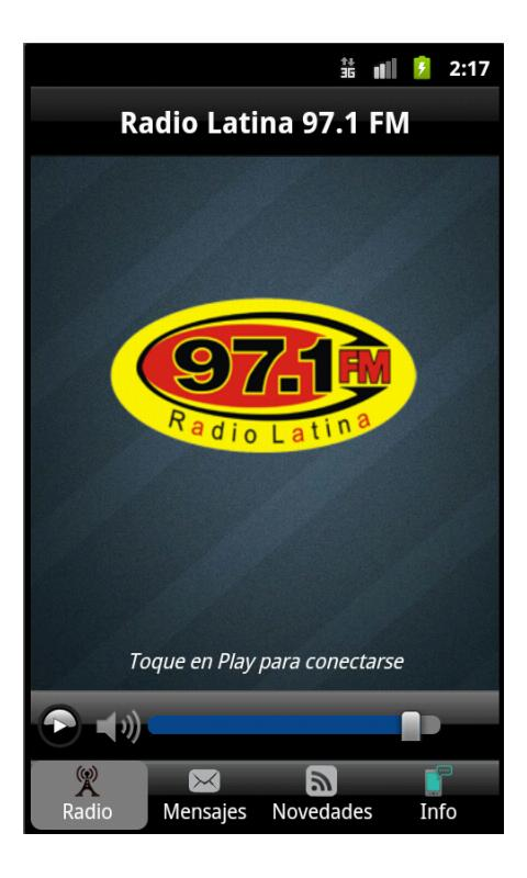 Radio Latina 97.1 - screenshot