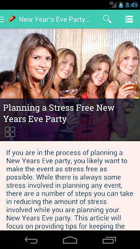 New Years Eve Party Tips