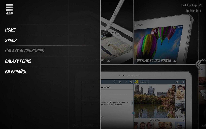 Galaxy Note® 10.1 Owner's Demo - screenshot
