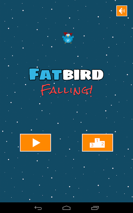 Fatbird Falling- screenshot