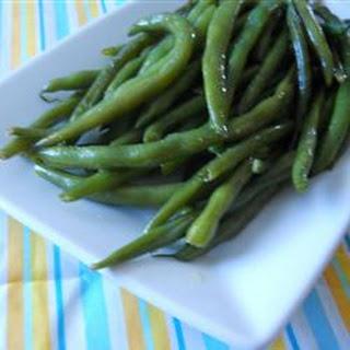 Pan Fried Green Beans