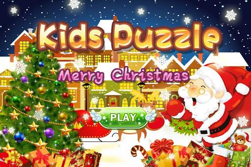 兒童拼圖-快樂聖誕節 專為2-12歲的寶寶設計 識動物學英語