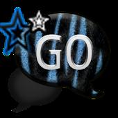 GO SMS THEME/ZebraBlue1