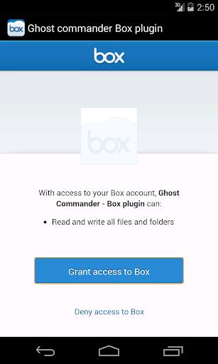 玩免費程式庫與試用程式APP|下載BOX plugin for Ghost Commander app不用錢|硬是要APP