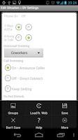Screenshot of Locale GV Settings Plugin