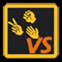 Rock Paper Scissors VS logo
