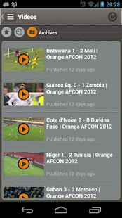 Orange AFCON SOUTH AFRICA 2013 - screenshot thumbnail