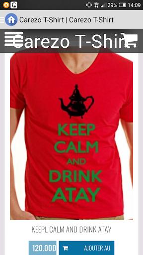 Carezo T-Shirt Maroc