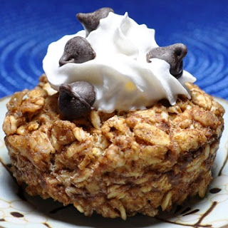 Cookie Dough Baked Oatmeal