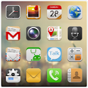 QQLauncher:iPhone Style Theme logo